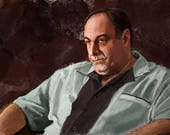 Tony Soprano Art Print...
