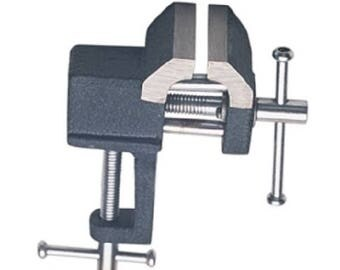 """Bench vise, small bench vise with 1 1/2"""" jaws"""