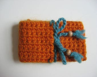 small wool gift bag bracelet size