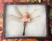 Mother Nature Can Charm Your Socks Off Altered Doll Dragonfly