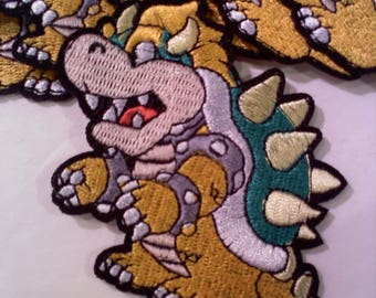 Super Mario Brothers Iron on/Sew on Patch- BOWSER