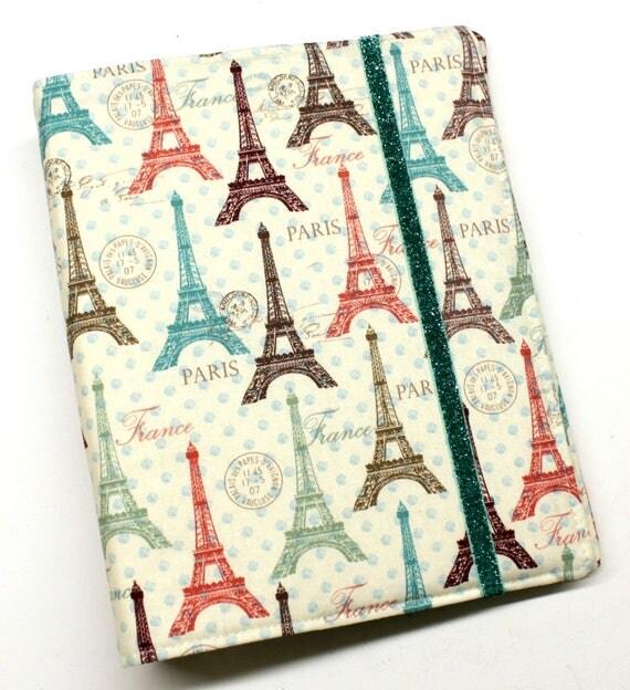 Paris Polka Dots WIP Tracker Cover and Binder