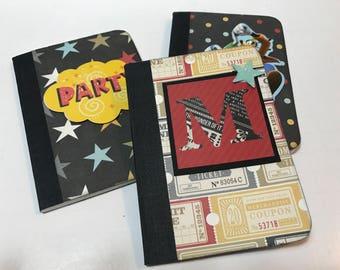 Disney notebooks altered mini composition notebook journals disneyland walt disney world