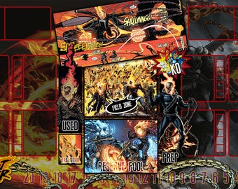 Ghost Rider Dice Masters Play Mat