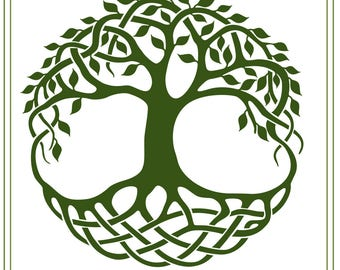 Celtic svg, Celtic Tree of Life svg download, Cletic, Irish knots svg, Wedding invitations, iron on transfer, vinyl cut file