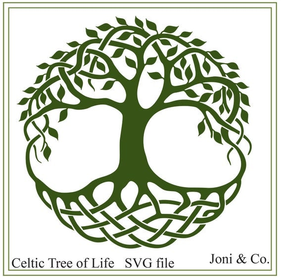 Tree Of Life Invitation Rsvp Celtic Life By: Celtic Svg Celtic Tree Of Life Svg Download Cletic Irish