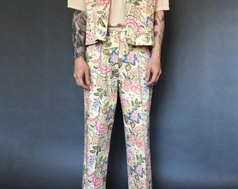 Wildflower Vest Set
