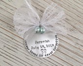 Memorial Baby Ornament, Miscarriage Ornament, Stillborn Stillbirth, Pregnancy Loss Ornament, Baby Loss Ornament, Infant Loss Ornament