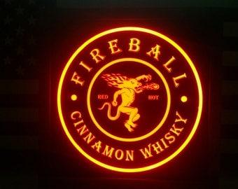 Fireball Whisky Etsy