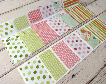 Mini Note Cards, Mini Note Card Set, 3x3 Note Cards, Mini Envelopes, Set of 6 Mini Note Cards with Envelopes, Mini Cards, Primrose