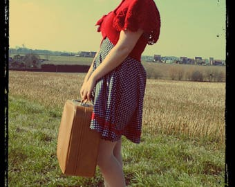 Covers shoulder Vintage red - size M (38-42)