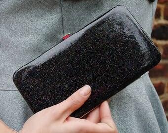 Glitter wallet! -Black