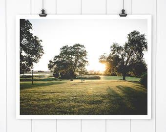 Sunset landscape Photography, Sunset Art Print, Sunset Picture, wall art, connecticut fine art, sunset photograph, nature art print