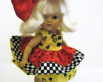 Dress for Ginny Doll Muffie Doll Vintage Doll Dress