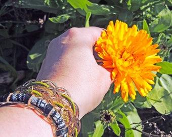 Belly dancer belly dancer Bangle cuff bracelet