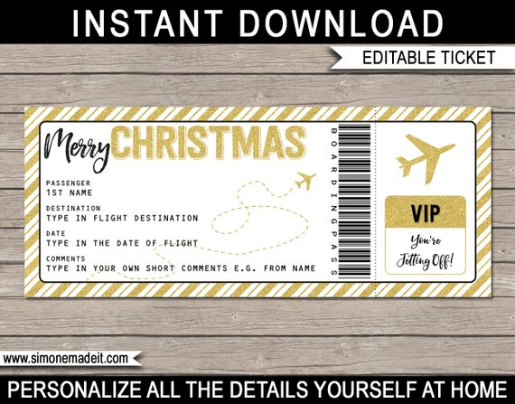 Il_570xn  Airplane Ticket Template