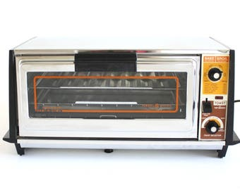 General Electric Toast n Broil Toaster Oven A5 3126, GE Toast R Oven, Made in USA, Chrome