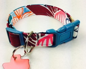 Bouquet Dog Collar - Adjustable