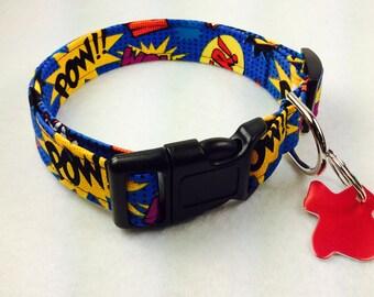 Pow Dog Collar - Adjustable