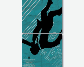 Cork Coasters Set INCEPTION Movie Poster