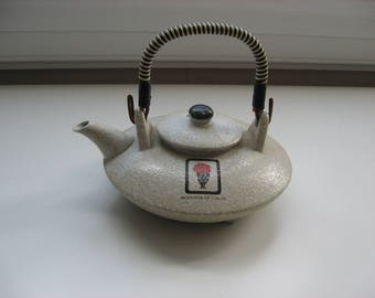 SALE Benihana of Tokyo Teapot// Made in Japan//Asian Style Stonewear Tea Pot