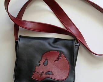Mini Skull Cross body Messenger bag