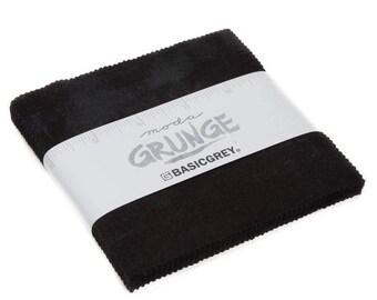 Grunge cotton charm pack Onyx Moda Fabrics