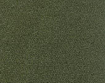 20 % off thru 7/4 moda fabric by 1/2 yard MINIATURE PRIMITIVE GATHERINGS-tiny black vines on kale green 1157-21