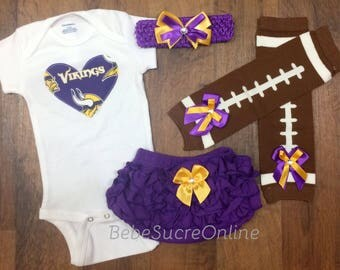 Minnesota Vikings Game Day Outfit
