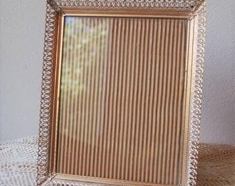 Vintage Gold Filigree Frame