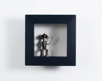 8x8 Shadow Box - Custom Color - Mini Shadow Box, Extra DEEP Shadow Box, Display Frame, 4 Inch or 5 Inch Deep, Figurine Display