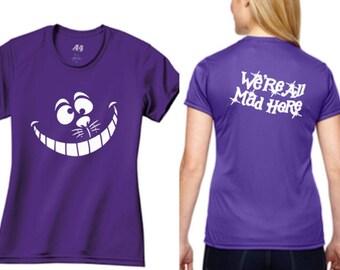 Cheshire Cat Performance T Shirt, Cheshire Cat Run Disney Costume Shirt, Cheshire Cat T Shirt, Run Disney Outfit, Run Disney Costume