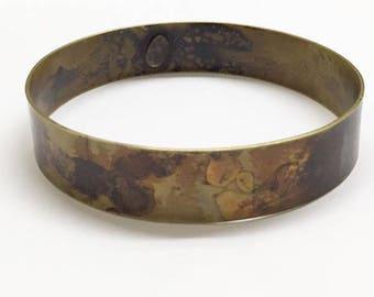 Vintage Designer Signed Martha Sturdy Vancouver Bangle Bracelet