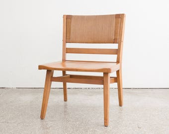 Minimalist Rush Back Chair