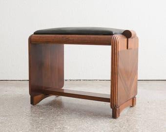 Art Deco Stool / Ottoman