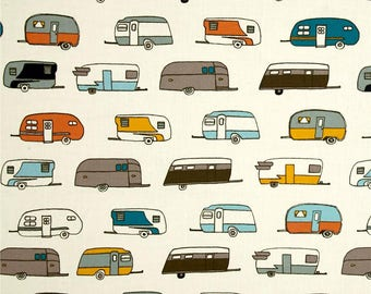 Camper Rally Retro From Birch Organic Fabric's Camp Sur 3 Collection by Jay-Cyn Designs