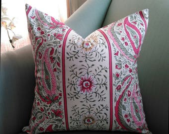 Pierre Frey 18 Inch Cushion Pillow Cover