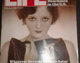 Life Magazine February 1980 Lost  Hollywood Stars 1980 Politics