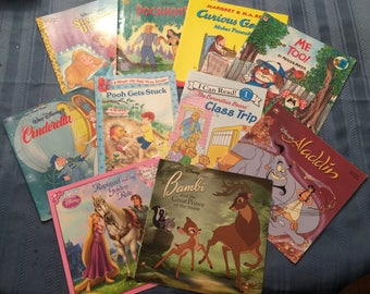 TEN soft cover Children's book covers for crafting - Set 1