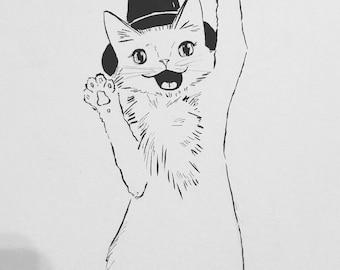 Witch Kitty - Inktober 2017