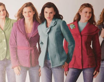 Misses Jacket and Vest New Sewing Pattern Simplicity 4032, Four different styles, Size 6, 8, 10, 12 and 14 Women's Fashion