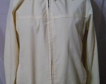 "LABOR DAY SALE 80s Vintage Golf Jacket-Arnold Palmer-38"" Bust-Size 6-Medium-Preppy Resort Casual Cruise Sportswear"