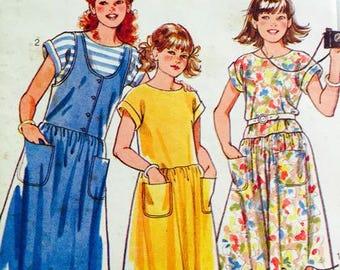 Style 4324 Girls summer dresses