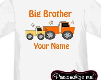 ON SALE Big Brother Truck Personalized T Shirt