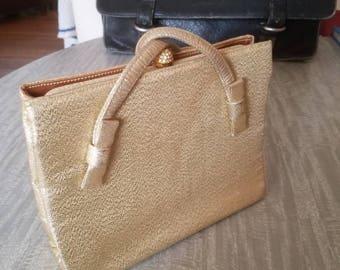 1960's After Five gold handbag.