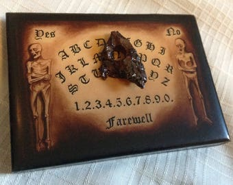 Ouija Board / micro miniature Ouija Board / 4 Available! / 20 dollars each plus shipping
