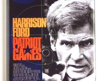 Patriot Games Movie Poster Fridge Magnet