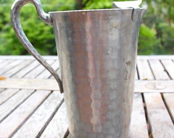 Vintage aluminum pitcher