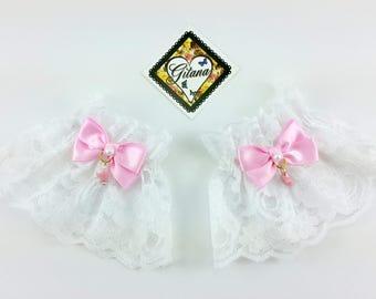 Write Lace Wrist Cuff-Lolita Wrist Cuff-Wrist Cuff-Classic Lolita-Harajuku-Fairy Kei-Cult Party Kei