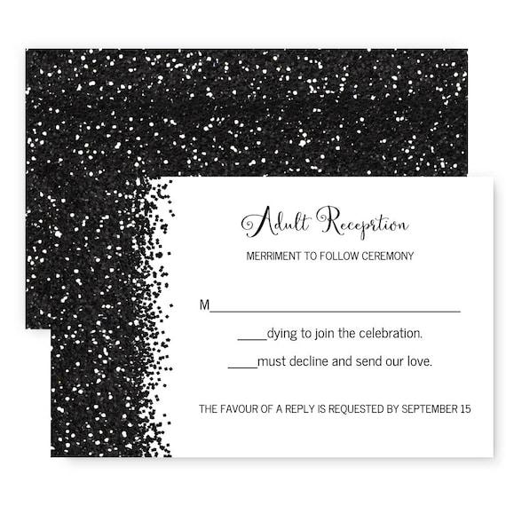 Until death wedding response card skull invitation black il570xn stopboris Images